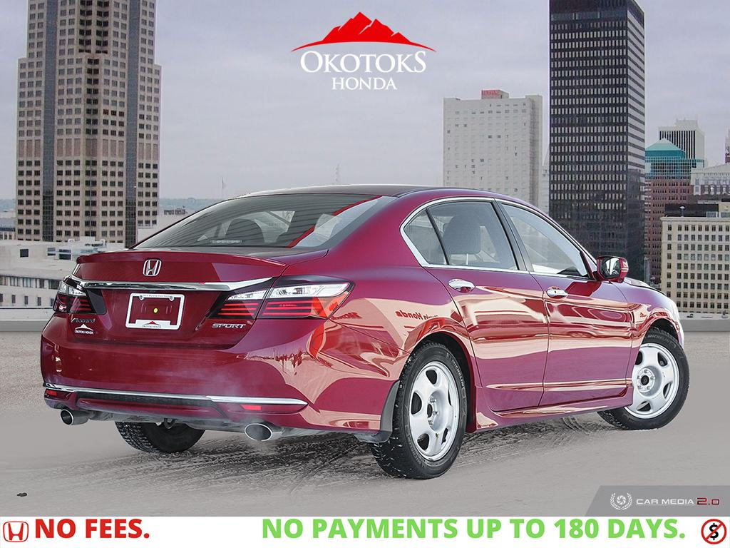 Certified Pre-Owned 2017 Honda Accord Sedan L4 Sport Honda Sensing CVT