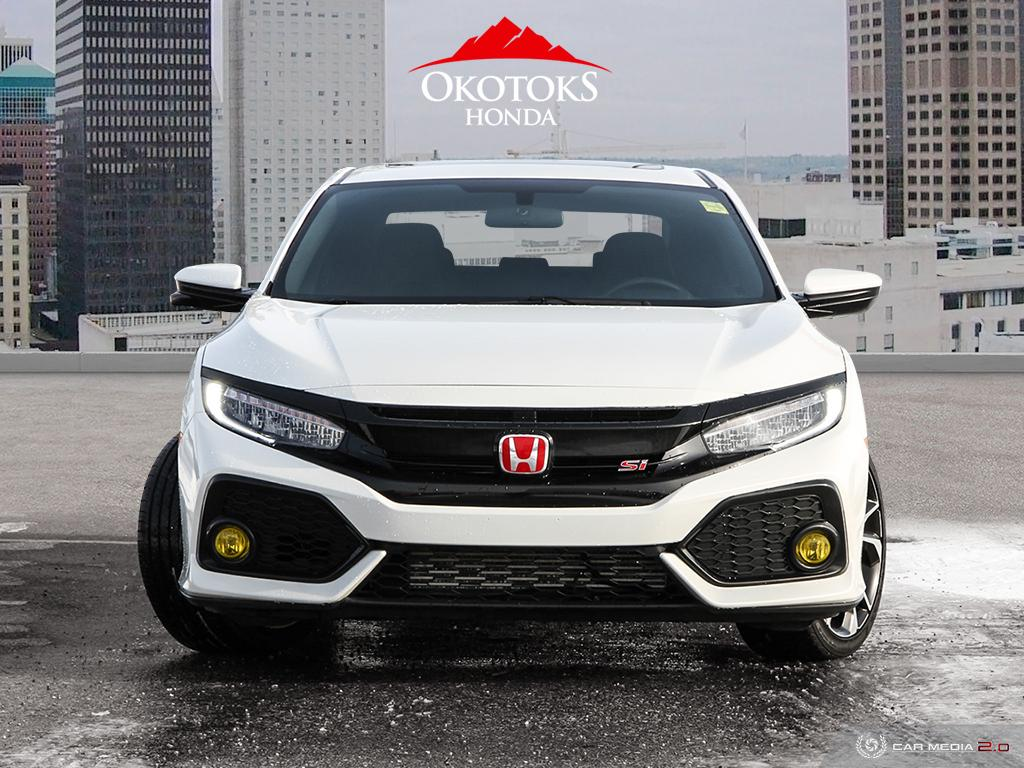 Certified Pre-Owned 2018 Honda Civic Sedan SI 6MT