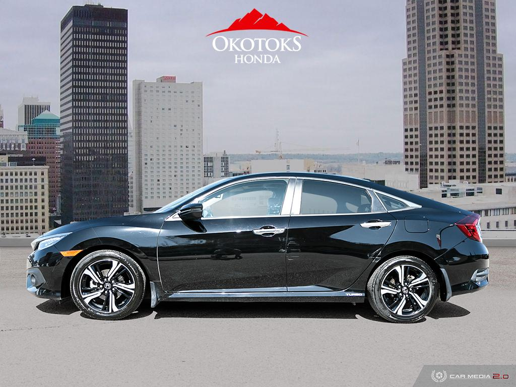 Certified Pre-Owned 2018 Honda Civic Sedan Touring CVT