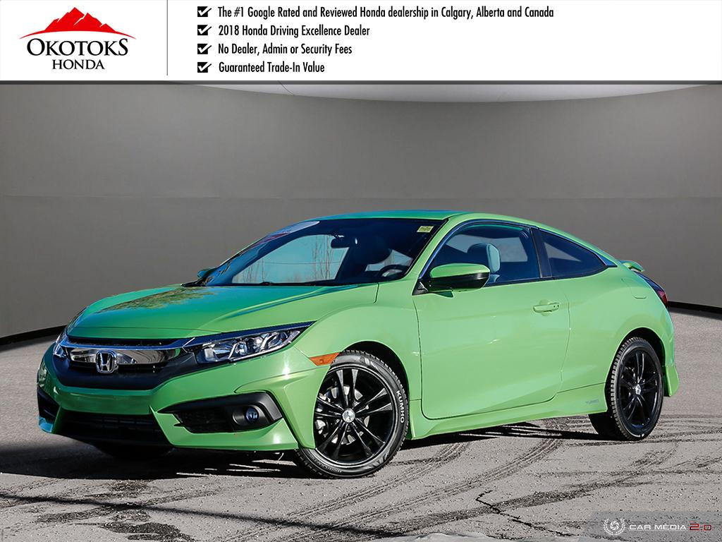 Certified Used 2016 Honda Civic Coupe Ex T Cvt