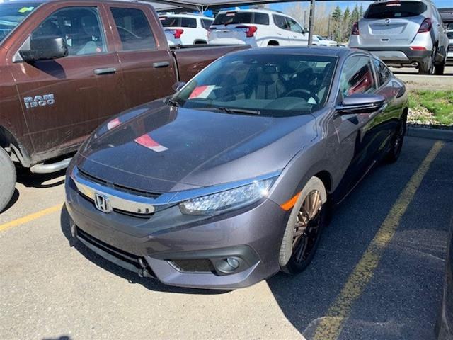 Certified Pre-Owned 2018 Honda Civic Coupe Touring CVT