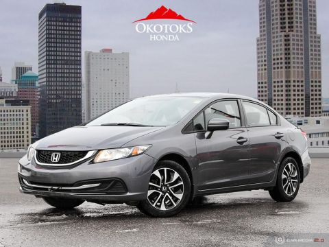 Certified Pre-Owned 2015 Honda Civic Sedan EX CVT