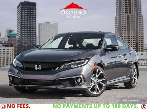 Pre-Owned 2019 Honda Civic Sedan Touring CVT