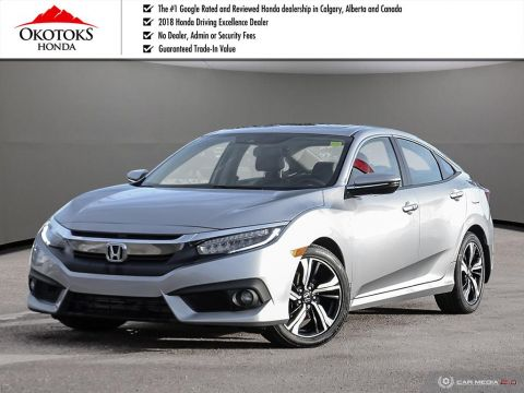 Certified Used 2017 Honda Civic Sedan Touring CVT