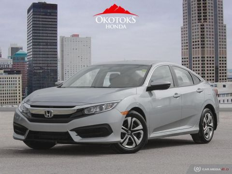 Certified Pre-Owned 2017 Honda Civic Sedan LX CVT