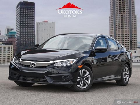 Pre-Owned 2017 Honda Civic Sedan LX CVT HS