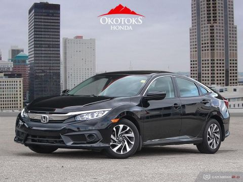 Certified Pre-Owned 2017 Honda Civic Sedan EX CVT HS