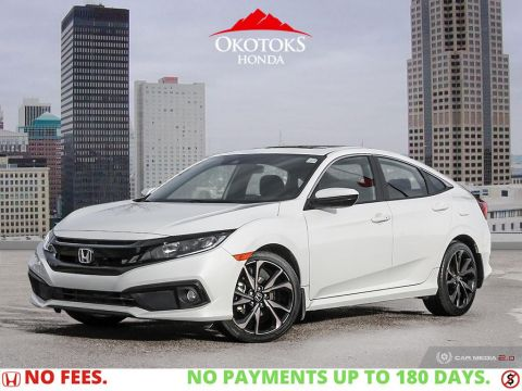 Pre-Owned 2019 Honda Civic Sedan Sport CVT