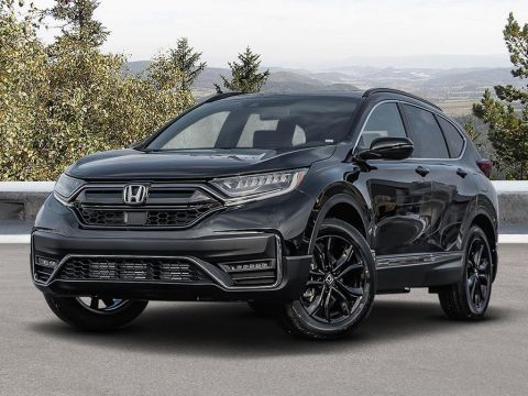 New 2020 Honda CR-V Black Edition 4WD