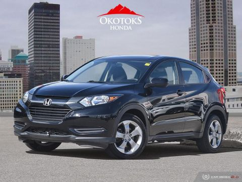 Certified Pre-Owned 2018 Honda HR-V LX 4WD CVT
